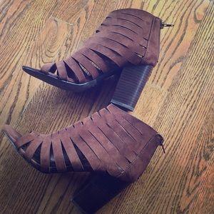 Carlos by Carlos Santana open toe cutout boot